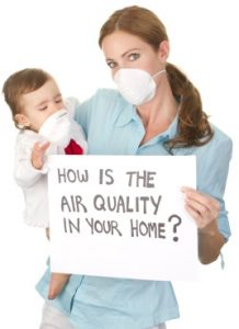 home air quality stock image