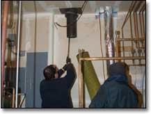 boiler pipes inspection